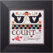 cover of Stoney Creek cross stitch pattern Simply Inspirational SI003 Count your Blessings_THUMBNAIL