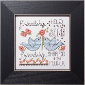 cover of Stoney Creek cross stitch pattern Simply Inspirational SI004 Friendship_THUMBNAIL
