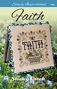 cover of Stoney Creek Cross Stitch Pattern SI008 Simply Inspirational Faith_THUMBNAIL