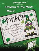 Snowmen of the Month - March THUMBNAIL