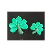 Magnets - Snowmen of the Month - March Shamrocks, Set of 2 THUMBNAIL