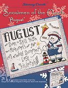 Snowmen of the Month - August THUMBNAIL