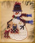 Mill Hill Snow Charmer Kit Series II - Gift Snow Charmer