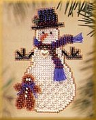 Mill Hill Snow Charmer Kit Series II - Gingerman Snow Charmer THUMBNAIL