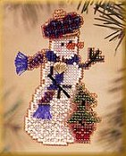Mill Hill Snow Charmer Kit Series II - Holiday Tree Snow Charmer THUMBNAIL