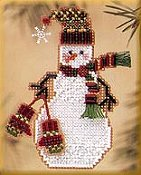 Mill Hill Snow Charmer Kit Series II - Mitten Snow Charmer THUMBNAIL