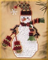 Mill Hill Snow Charmer Kit Series II - Mitten Snow Charmer MAIN