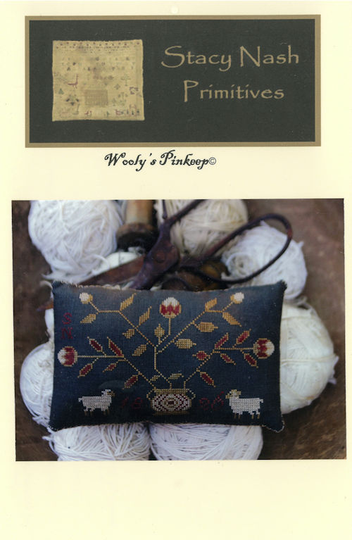 Stacy Nash Primitives - Wooly's Pinkeep_THUMBNAIL