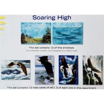 Tree Free Greetings Soaring High Tin/Notecards