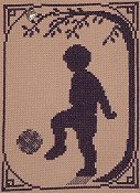 Handblessings - Summer Silhouette - Soccer Player