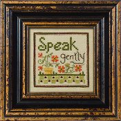 "July 2010 Pattern of the Month ""Speak Gently"""