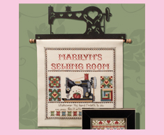 Personalized Sewing Room