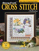 Cover photo of Spring 2011 Stoney Creek Cross Stitch Collection Magazine THUMBNAIL