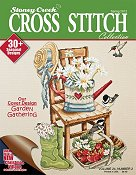 Cover photo of Spring 2012 Stoney Creek Cross Stitch Collection magazine