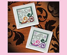 Dad and Mom Coasters