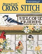 Cover photo of Spring 2013 Stoney Creek Cross Stitch Collection magazine