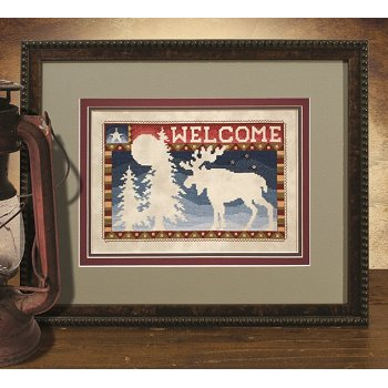 Custom Frame - Northwoods Welcome MAIN