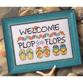 Custom Frame - Plop Your Flops THUMBNAIL