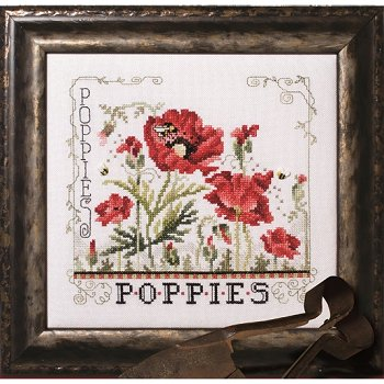 Custom Frame - Poppies