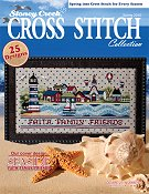 Cover photo of Spring 2015 Stoney Creek Cross Stitch Collection magazine