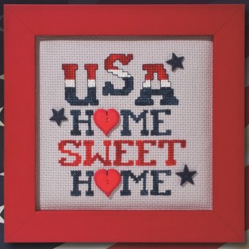 Custom Frame - USA Home Sweet Home