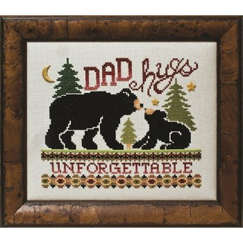 Custom Frame - Dad Hugs