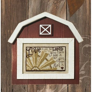 "Red/Wood On the Farm Frame - 6"" x 4"" MAIN"
