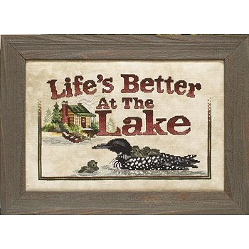 Custom Frame - Life at the Lake THUMBNAIL