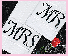 Mr & Mrs Towels