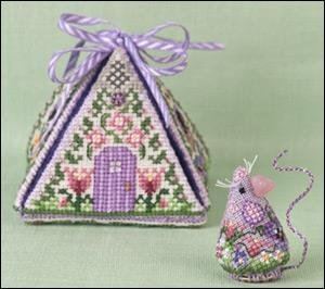 Just Nan Cross Stitch Just Nan Mouse In A House Series