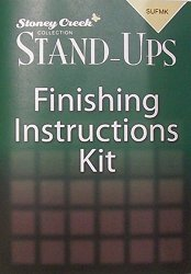 "Stand-Ups Finishing Instructions/Kit - 4.5"" x 6.5"" MAIN"