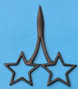 Star Scissors Primitive