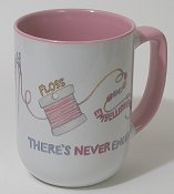 Never Enough Stitching Stash Mug THUMBNAIL