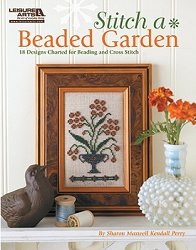 Leisure Arts - Stitch A Beaded Garden