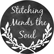 Whimsical Edge Designs Needle Minder - Stitching Mends The Soul