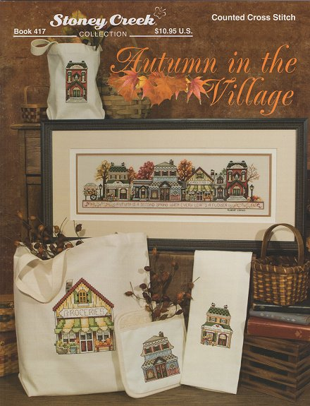 Book 417 Autumn in the Village THUMBNAIL