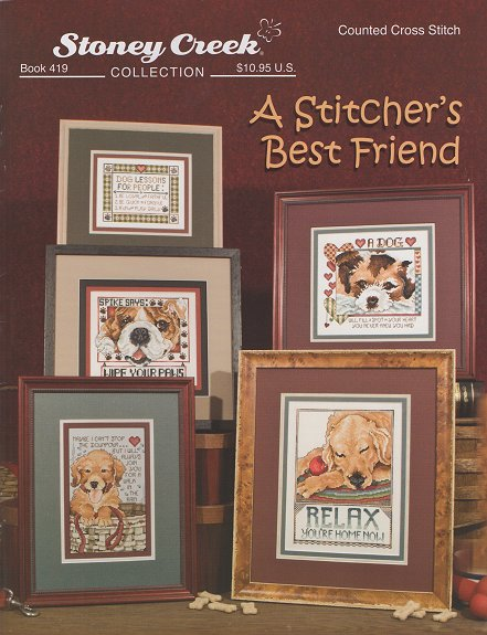 Book 419 A Stitcher's Best Friend THUMBNAIL