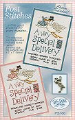 Sue Hillis Designs - Post Stitches - Special Delivery