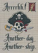 Sue Hillis Designs - Post Stitches - Arrrrhh!