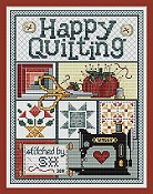 Sue Hillis Designs - Happy Quilting THUMBNAIL