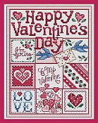 Sue Hillis Designs - Happy Valentine's Day THUMBNAIL