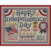 Sue Hillis Designs - Happy Independence Day
