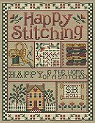 Sue Hillis Designs - Happy Stitching THUMBNAIL