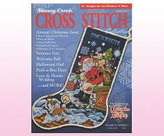 Cover photo of Summer 2011 Stoney Creek Cross Stitch Collection magazine