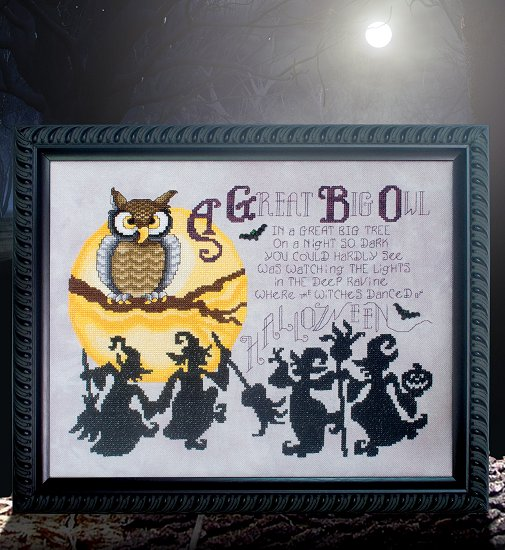 Custom Frame - Great Big Owl