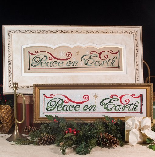 Custom Frame - Peace on Earth