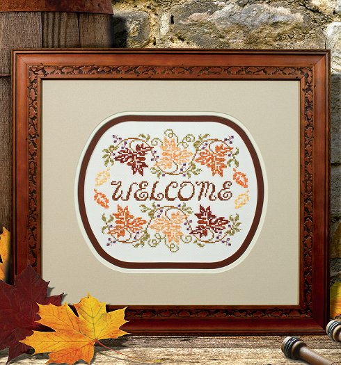 Custom Frame - Welcome Fall THUMBNAIL