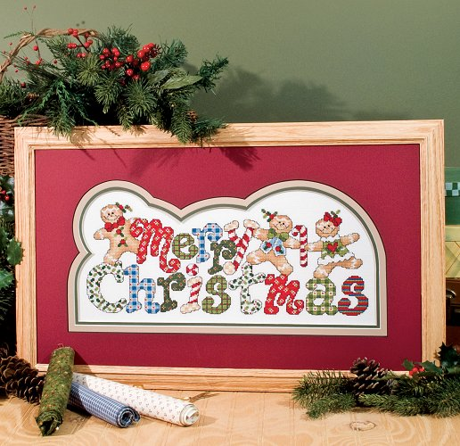 Custom Frame - Merry Gingerbread Christmas