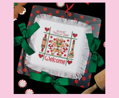 Sweet Holly Day Gingerbread Welcome