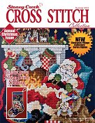 Cover photo of Summer 2012 Stoney Creek Cross Stitch Collection magazine